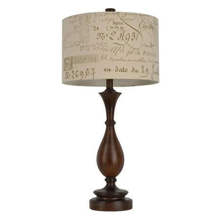 French Script Table Lamp (Jimco Table Lamp)