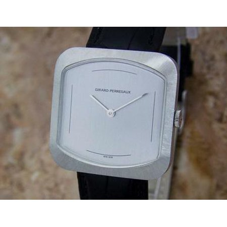 Girard Perregaux Swiss Made 1970s Mens Manual Stainless Steel 33mm Watch MX55