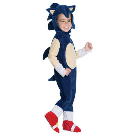 Sonic Toddler Romper Costume](Sonic Hedgehog Costumes)