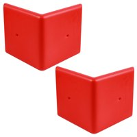 Corner Door Defender Car Garage Protection Pad - 2 Pack Yellow