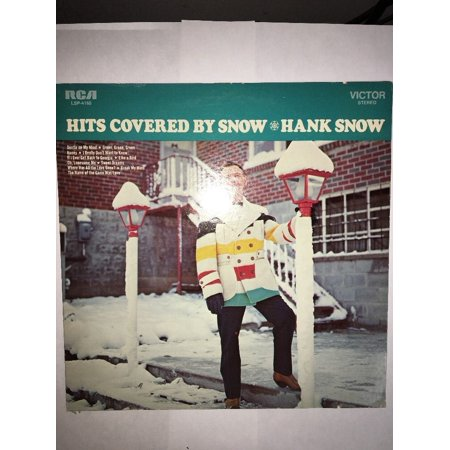 1969 HITS COVERED BY HANK SNOW ~ LP VINYL RECORD RCA LSP-4166 MINT VINTAGE RARE - Vintage Halloween Records