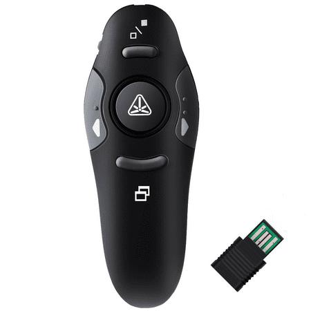 Wireless Presenter Usb Laser Pointer - Powerpoint Presentation Remote RF 2.4GHz Wireless USB Presenter Laser Pointer