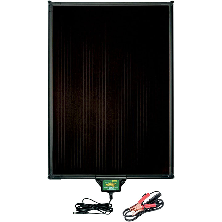 Battery Tender 10W Solar Panel-Frame and Controller