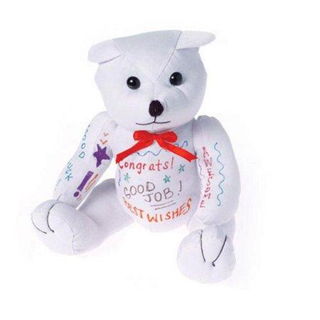 Autograph Graduation Bear (One 12