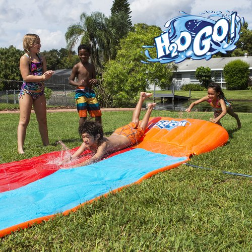 H2O Go Water Slide, Double Lane