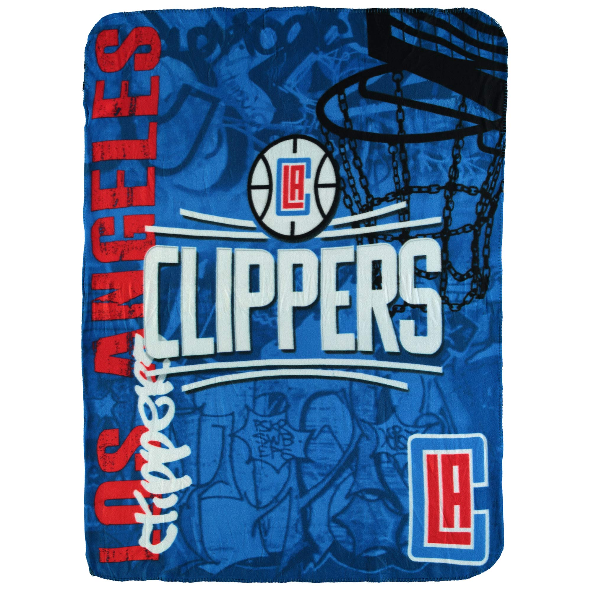 "NBA Los Angeles Clippers 50"" x 60"" Fleece Throw"