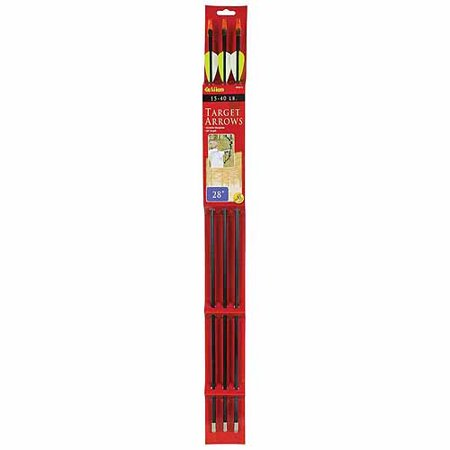 "Allen Fiberglass 28"" Youth Arrows, 3-Pack thumbnail"
