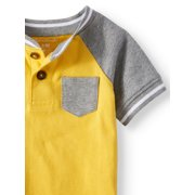 aeff4f5e9aaa Garanimals - Baby Boys  Pocket Henley and Graphic Bodysuits