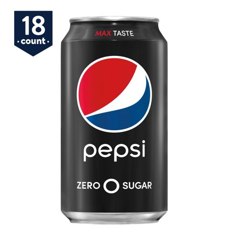 Pepsi Zero Sugar, 12 oz Cans, 18 - Pepsi Racing