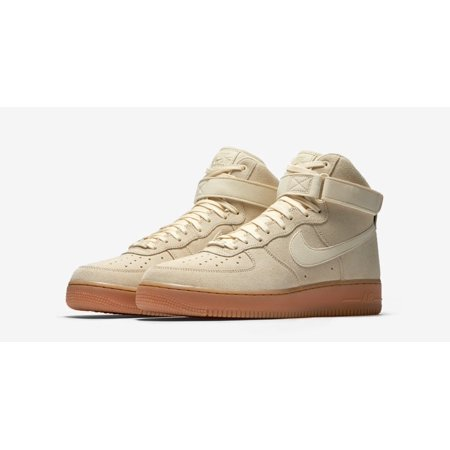 Hombres High Nike Air Force 1 High Hombres '07 Lv8 Suede Mushroom Muselina De Goma Marrón 808676
