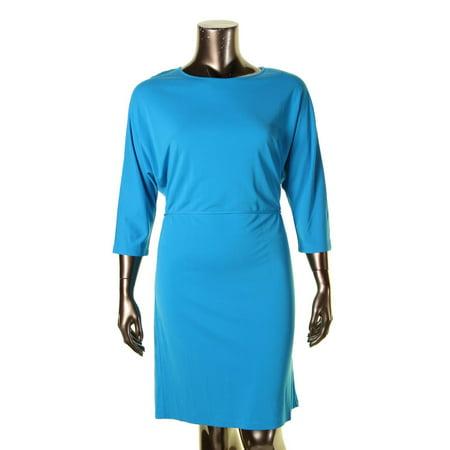 Lauren Ralph Lauren Womens Sheath Pullover Party Dress
