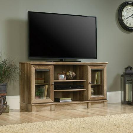 Sauder Regent Place 47″ Panel TV Stand in Estate Black