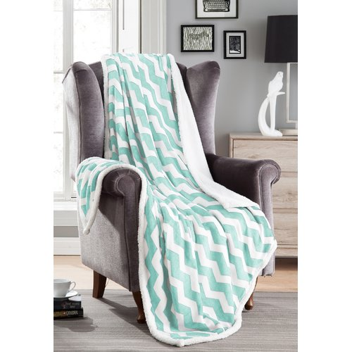 DR International Fofo Sherpa Throw Blanket