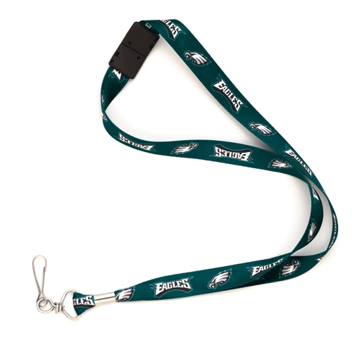 Philadelphia Eagles WinCraft Breakaway Lanyard - No Size