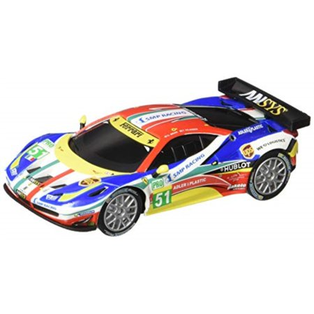 Carrera USA 20064053 64053 Ferrari 458 Italia GT2 AF Corse, No.51 GO Analog Slot Car Racing Vehicle 1:43 Scale, Multicolor (32 Carrera Analog Slot Cars)