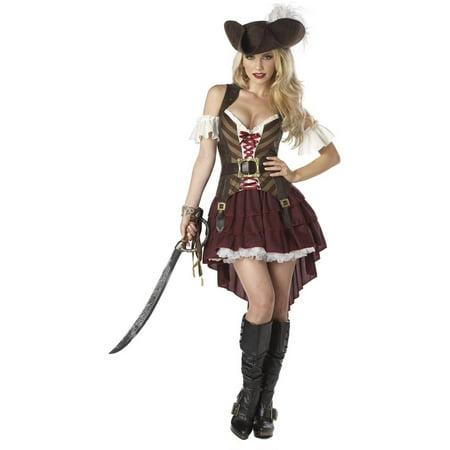 Sassy Swashbuckler Women's Adult Halloween Costume, Small