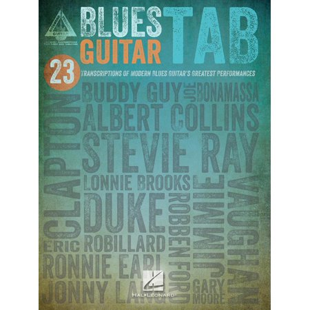 - Blues Guitar Tab (Songbook) - eBook