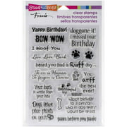 """Stampendous Perfectly Clear Stamps, 4"""" x 6"""""""