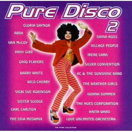 Pure Disco 2 / Various (CD) (Psychedelic Disco)