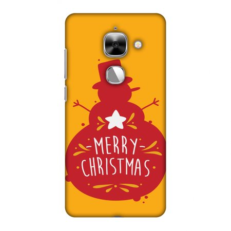 LeEco Le Max 2 Case - Very Merry Christmas, Hard Plastic Back Cover. Slim Profile Cute Printed Designer Snap on Case with Screen Cleaning Kit ()