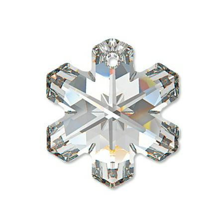 Swarovski Snowflake Pendant 6704 20mm Crystal - Christmas Holiday