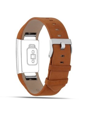 Product Image iGK Fitbit Charge 2 Bands Leather Adjustable Replacement Sport Strap Band for Fitbit Charge 2 Heart