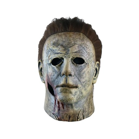 Mascaras De Latex Halloween Mexico (Halloween 2018 Michael Myers Final Battle Adult Latex Costume Mask | Bloody)