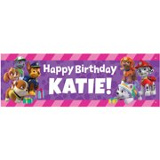 Personalized Paw Patrol Party Pups Birthday Banner