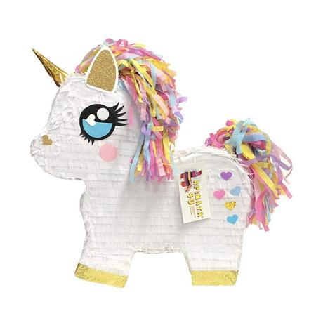 APINATA4U Cute Unicorn Pinata for a Magical Unicorn Theme Party - Carnival Themed Pinata