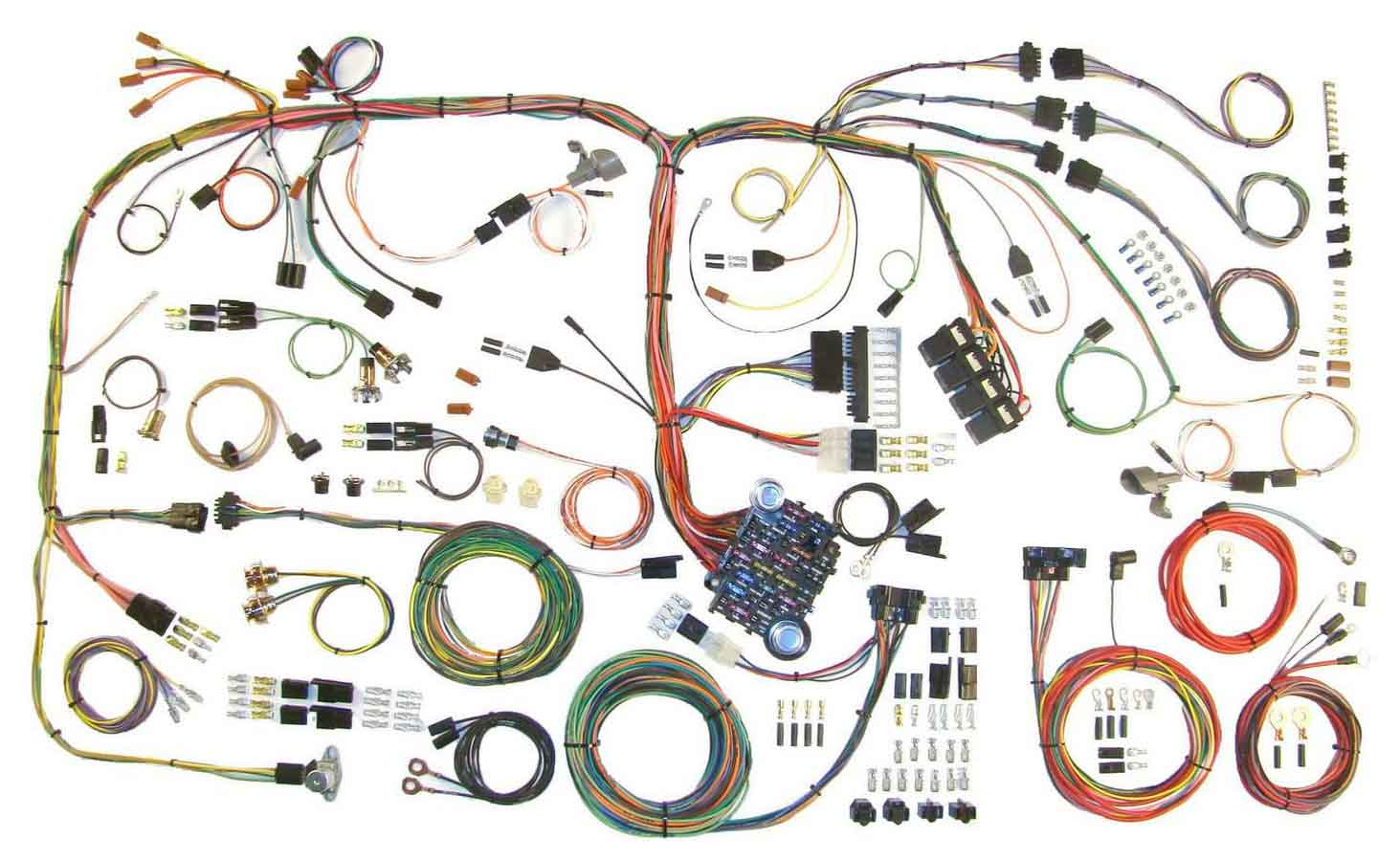 Super American Autowire Wiring System Challenger 1970 74 Kit P N 510289 Wiring Cloud Usnesfoxcilixyz