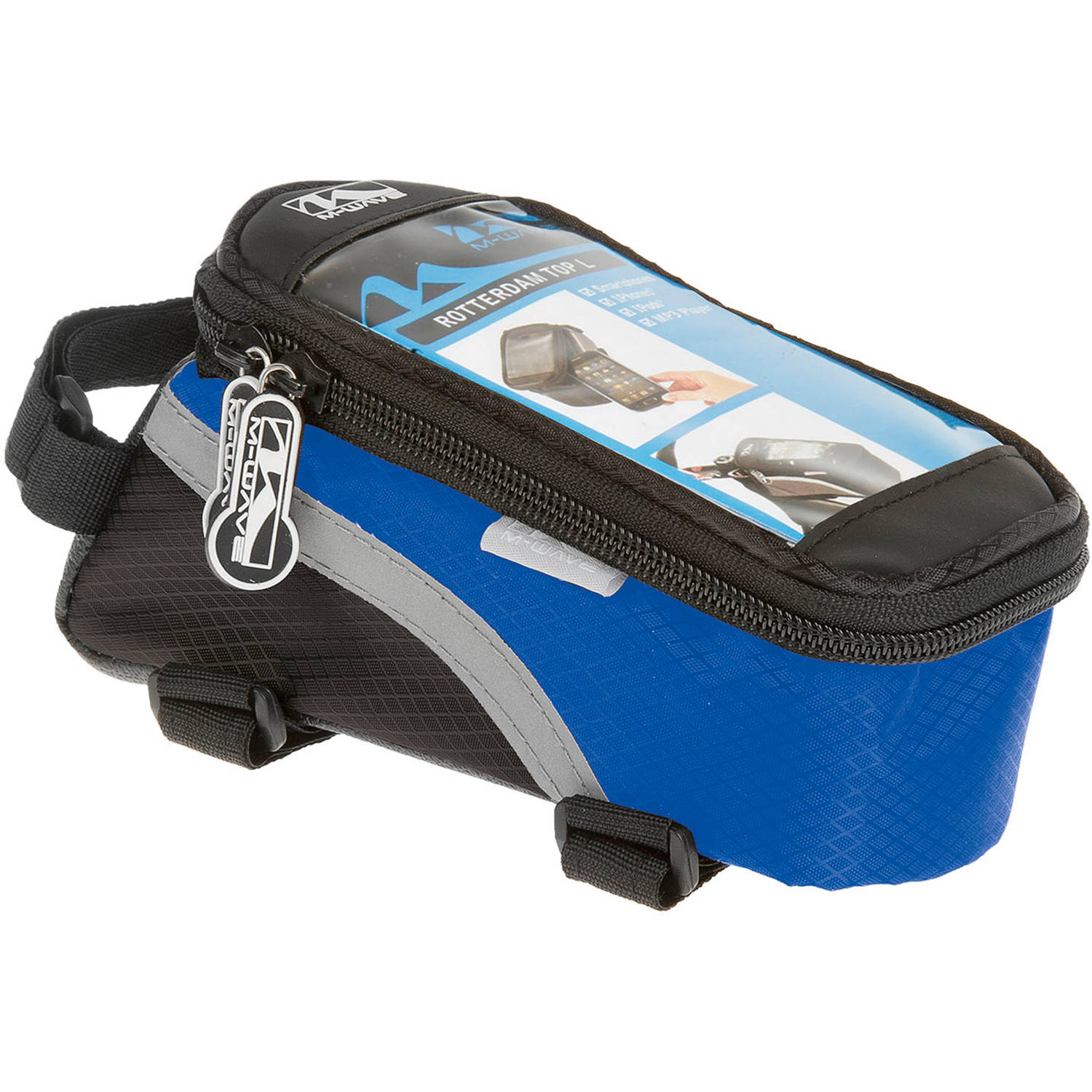 Ventura Rotterdam Smartphone Top Tube Bag, Blue