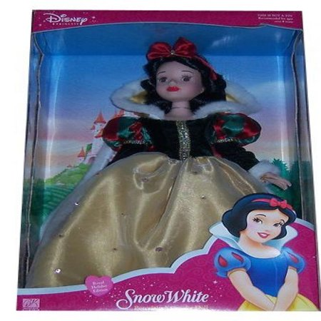 Brass Key Princess Royal Holiday Series - Snow White Porcelain Keepsake Doll - Keepsake Porcelain Doll