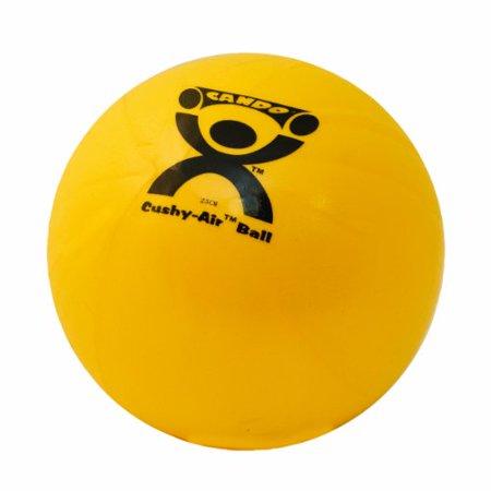 CanDo Cushy-Air Ball, 25cm (8.5in), yellow