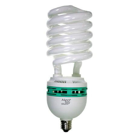 Alzo 85w Joyous Light Full Spectrum Cfl Bulb 5500k 4250 Lumens 120v