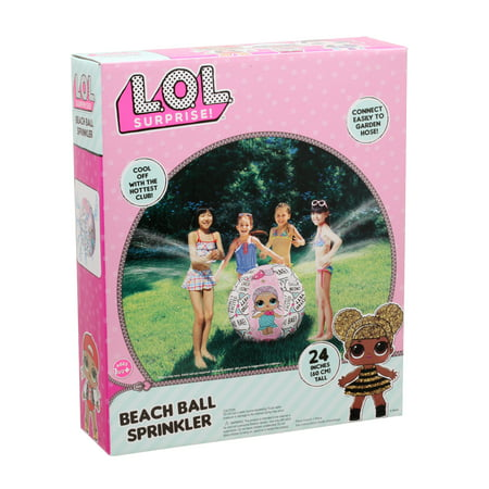 L.o.l Beach Ball Sprinkler