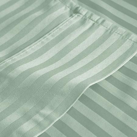 - Somerset Home 300-Thread-Count Cotton Sateen Bedding Sheet Set