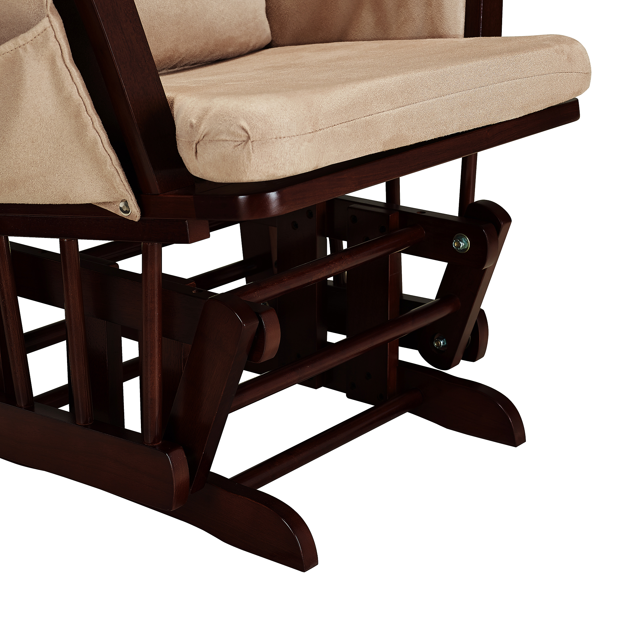 baby relax glider rocker and ottoman walnut reviews moms and