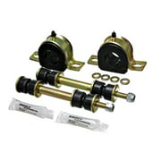 Energy Suspension 85-89 Ford Astro Van 2WD 1-1/4in Front Sway Bar Bushing Set - Black