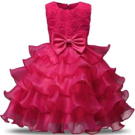 Childrem S Girl Summer Dress Posh Lush Kids Dresses Girls Clothes Party Vestidos For 3 4 5 6 7 8 Years Birthday Or Easter Princess Costume Walmart Canada