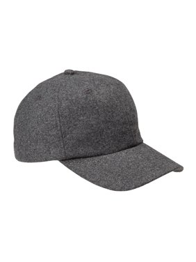 Product Image Branded Big Accessories Wool Baseball Cap - BLACK - OS  (Instant Saving 5%   5f5d1f0780b