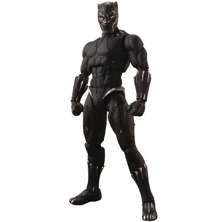 Marvel S.H. Figuarts Black Panther Action Figure [Tamashii Effect - Ultimate Black Panther