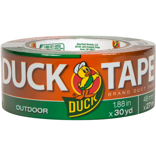 "Duck Brand Duct Tape, Outdoor, 1.88"" x 30 yds"