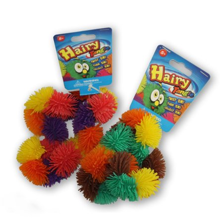 Tangle Jr. Hairy, Sensory Toy, Brain Teaser, Fidget Toy, Stress Reliever (Colors May Vary)