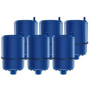6 Pack AQUACREST Faucet Water Filter Replacement for Pur RF-9999