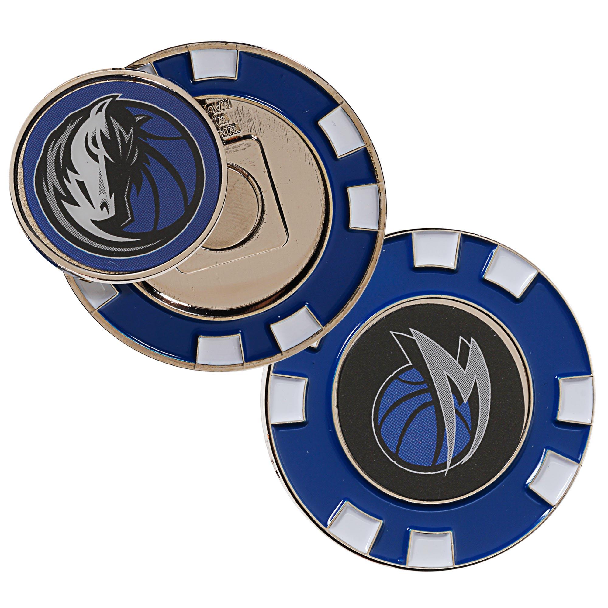Dallas Mavericks WinCraft Golf Poker Chip - No Size