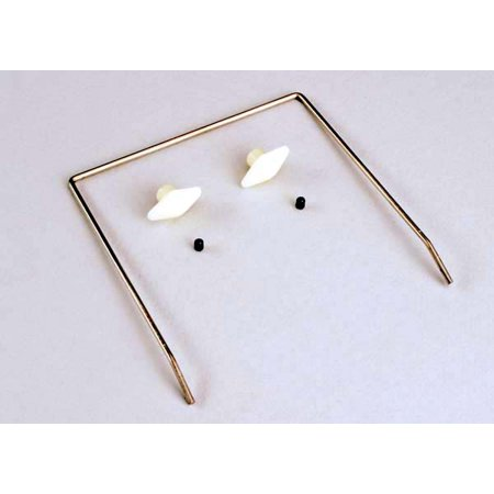 Wing buttons (2)/ wing wire/ 3mm set screws (2)