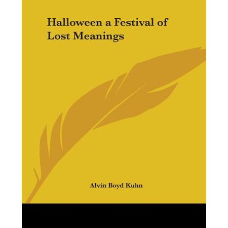 Meaning Of Halloween In Hindi (Halloween a Festival of Lost)