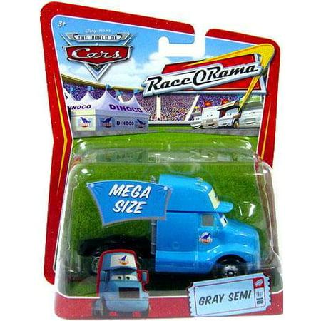 Disney Cars Race-O-Rama Gray Semi Diecast Car