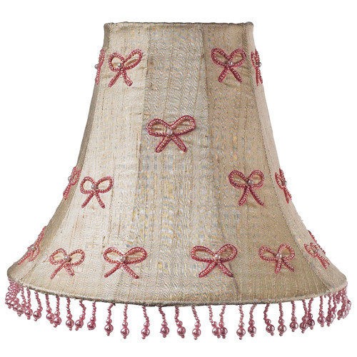 Jubilee Collection Ivory Pearl Bow Shade in Pink