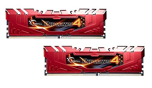 G.SKILL Ripjaws 4 Series 8GB (2 x 4GB) 288-Pin DDR4 SDRAM 2400 (PC4 19200) Memory Kit F4-2400C15D-8GRR